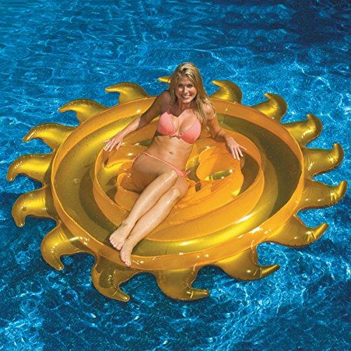 フロート プール 水遊び 浮き輪 SunFloat Island Loungerフロート プール 水遊び 浮き輪