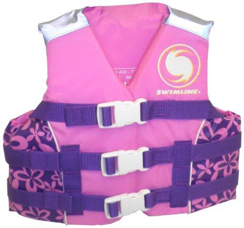 フロート プール 水遊び 浮き輪 9874G Swimline Kids USCG Approved Life Vest, Girlsフロート プール 水遊び 浮き輪 9874G