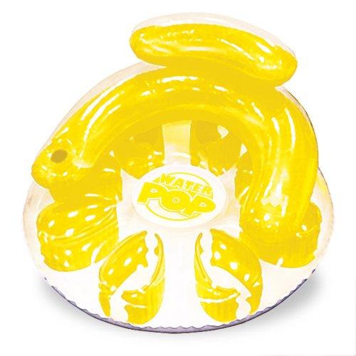 フロート プール 水遊び 浮き輪 06484 Poolmaster Water Pop Circular Swimming Pool Float Lounge, Yellowフロート プール 水遊び 浮き輪 06484