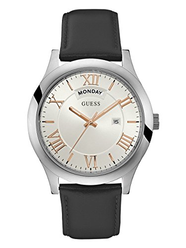 ゲス GUESS 腕時計 メンズ U0792G8 【送料無料】GUESS Men's Quartz Watch with Leather Strap, Black, 22 (Model: U0792G8)ゲス GUESS 腕時計 メンズ U0792G8