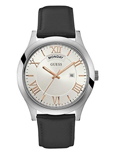 ゲス GUESS 腕時計 メンズ U0792G8 【送料無料】GUESS Men's Quartz Watch with Leather Strap, Black, 22 (Model: U0792G8)ゲス GUESS 腕時計 メンズ U0792G8