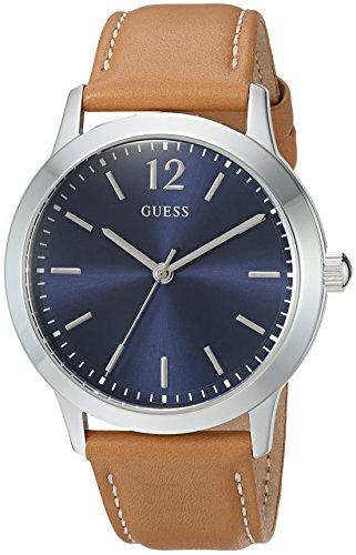 ゲス GUESS 腕時計 メンズ U0922G8 【送料無料】GUESS Men s Quartz Stainless Steel and Leather Casual Watch Color Silver Tone Model U0922G8ゲス GUESS 腕時計 メンズ U0922G8