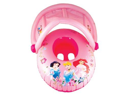 フロート プール 水遊び 浮き輪 25083-Princess SwimWays Sun Canopy Baby Float - Disney Princessフロート プール 水遊び 浮き輪 25083-Princess