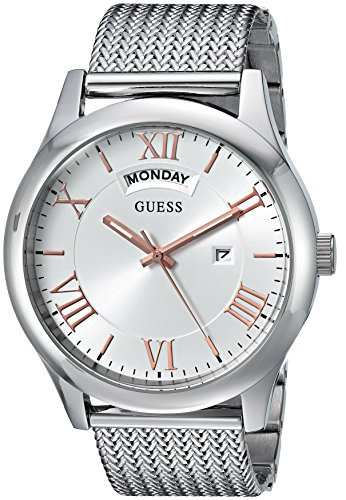 人気カラーの 腕時計 ゲス GUESS メンズ U0923G1 【送料無料】GUESS Men's Quartz Watch with Stainless-Steel Strap, Silver, 21 (Model: U0923G1)腕時計 ゲス GUESS メンズ U0923G1, ブランドストリートリング 751ee211