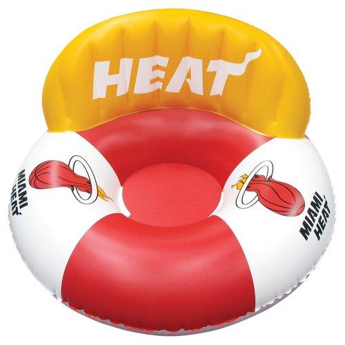 フロート プール 水遊び 浮き輪 88714 Poolmaster Miami Heat NBA Swimming Pool Float, Luxury Drifterフロート プール 水遊び 浮き輪 88714