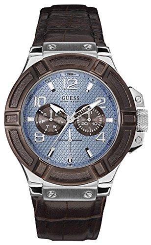 ゲス GUESS 腕時計 メンズ R.guess cab esf.azul.cor.marron W0040G10 Mens japanese-quartz watchゲス GUESS 腕時計 メンズ