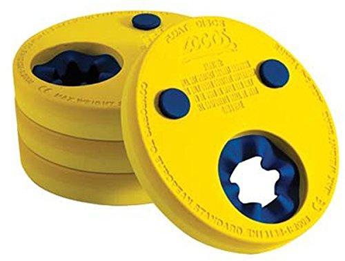 フロート プール 水遊び 浮き輪 Zoggs Swimming Pool Learn To Swim Arm Float Discs Set Of 4 Yellowフロート プール 水遊び 浮き輪