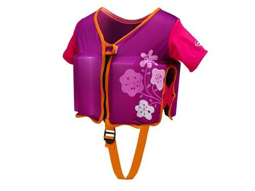 フロート プール 水遊び 浮き輪 11238-PUP SwimWays Swim Vest - Purple/Pinkフロート プール 水遊び 浮き輪 11238-PUP
