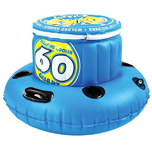 フロート プール 水遊び 浮き輪 Sportsstuff 8 Pounds 60-quart Floating Cooler / 17.75 X 16 X 6フロート プール 水遊び 浮き輪