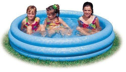 プール ビニールプール ファミリープール オーバルプール 家庭用プール 【送料無料】Intex - Inflatable Crystal Blue Swimming Pool (45 Inches 10 Inches) (3-Pack)プール ビニールプール ファミリープール オーバルプール 家庭用プール