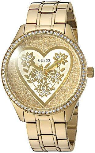 ゲス GUESS 腕時計 レディース U0910L2 【送料無料】GUESS Women's U0910L2 Trendy Gold-Tone Watch with Gold Dial and Stainless Steel Bandゲス GUESS 腕時計 レディース U0910L2