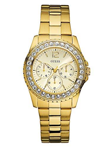 ゲス GUESS 腕時計 レディース 12820973 【送料無料】GUESS Factory Women's Gold-Tone Multifunction Watchゲス GUESS 腕時計 レディース 12820973