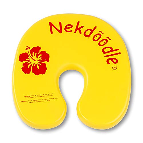 フロート プール 水遊び 浮き輪 3508 Nekdoodle Swimming Pool Float For Aqua Aerobics & Fitness - Water Training & Exercises - Fun & Recreational Pool Toy - Fits Adults and Kids - Yellow Hibiscusフロート プール 水遊び 浮き輪 3508
