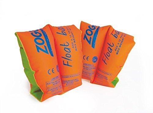 フロート プール 水遊び 浮き輪 Zoggs Orange Float Bands (age 3-6)フロート プール 水遊び 浮き輪