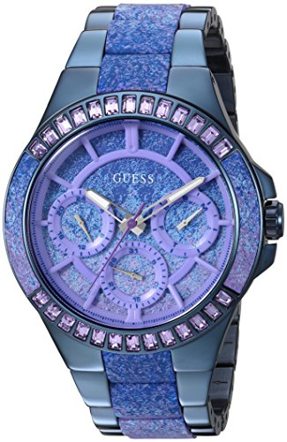 ゲス GUESS 腕時計 レディース U0945L3 【送料無料】GUESS Women's Quartz Watch with Stainless-Steel Strap, Blue, 11 (Model: U0945L3)ゲス GUESS 腕時計 レディース U0945L3