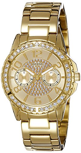 ゲス GUESS 腕時計 レディース W0705L2 Guess Women's Quartz Watch with Gold Dial Analogue Display and Gold Stainless Steel Bracelet W0705L2ゲス GUESS 腕時計 レディース W0705L2