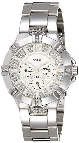 ゲス GUESS 腕時計 レディース W12080L1 GUESS Women's W12080L1 Steel Stainless Steel Crystal Accent Multifunction Watchゲス GUESS 腕時計 レディース W12080L1