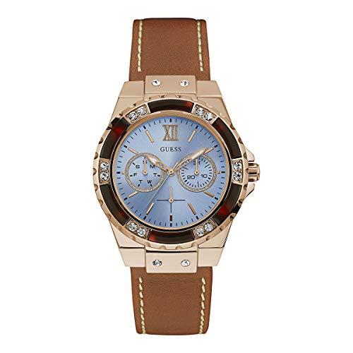ゲス GUESS 腕時計 レディース 【送料無料】Guess watch W0775L7 Women Blue Leather Multifunctionゲス GUESS 腕時計 レディース