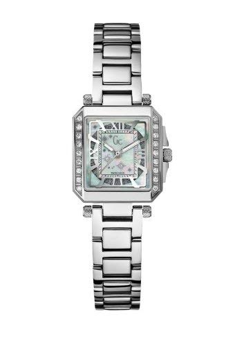 ゲス GUESS 腕時計 レディース 【送料無料】Guess Collection A51103L1 Women's Stainless Steel 20 Diamond Mother of Pearl Watchゲス GUESS 腕時計 レディース
