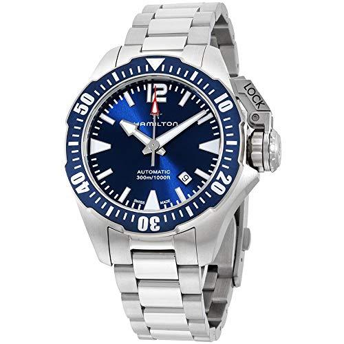 腕時計 ハミルトン メンズ H77705145 【送料無料】Men's Hamilton Navy Frogman Automatic Watch H77705145腕時計 ハミルトン メンズ H77705145