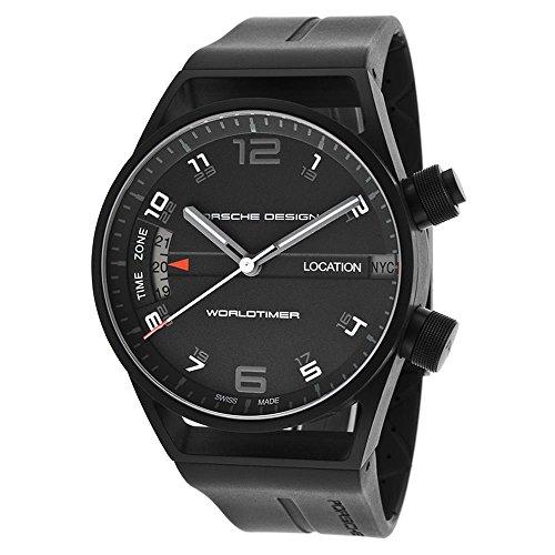 ポルシェ 高級腕時計 メンズ カイエン 6750.13.44.1180 Porsche Design Worldtimer GMT Automatic Black PVD Titanium Mens Watch 6750.13.44.1180ポルシェ 高級腕時計 メンズ カイエン 6750.13.44.1180