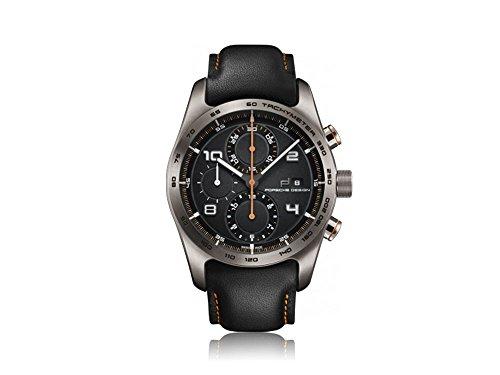 ポルシェ 高級腕時計 メンズ カイエン 6010.1.10.007.06.2 【送料無料】Porsche Design Chronotimer Series 1 Automatic Watch, Titanium, ETA 7750, Blackポルシェ 高級腕時計 メンズ カイエン 6010.1.10.007.06.2
