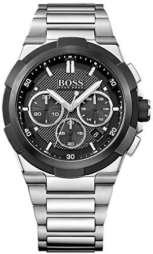 ヒューゴボス 高級腕時計 メンズ 1513359 【送料無料】HUGO BOSS BLACK 1513359 Mens Chronograph Watch w/ Dateヒューゴボス 高級腕時計 メンズ 1513359