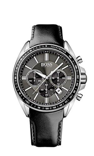 ヒューゴボス 高級腕時計 メンズ 1513085 Hugo Boss Men's 1513085 Black Leather Quartz Watchヒューゴボス 高級腕時計 メンズ 1513085