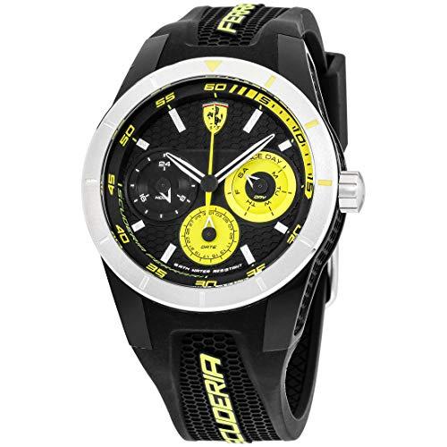 フェラーリ 腕時計 メンズ 0830257 Ferrari 830257 'RED REV T MULTI' Quartz Resin and Silicone Watchフェラーリ 腕時計 メンズ 0830257
