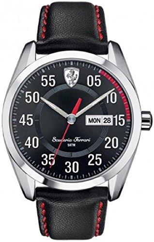 フェラーリ 腕時計 メンズ 【送料無料】Scuderia Ferrari 0830173 Mens D50 Black Watchフェラーリ 腕時計 メンズ