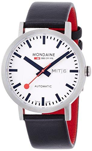モンディーン 北欧 スイス 腕時計 メンズ A132.30359.16SBB 【送料無料】Mondaine Unisex A132.30359.16SBB SBB Analog Display Swiss Automatic Black Watchモンディーン 北欧 スイス 腕時計 メンズ A132.30359.16SBB