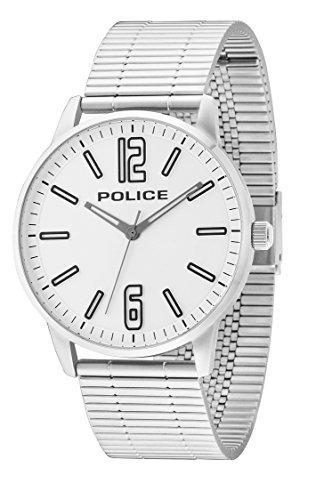 ポリス 腕時計 メンズ 14765JS/04M 【送料無料】Police 14765JS-04M Mens Esquire Silver Steel Bracelet Watchポリス 腕時計 メンズ 14765JS/04M