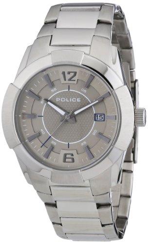 ポリス 腕時計 メンズ PL-12547JS/61MA Police Men's PL-12547JS/61MA Sincere Stainless Steel Grey Dial Date Bracelet Watchポリス 腕時計 メンズ PL-12547JS/61MA