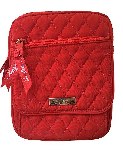 ヴェラブラッドリー ベラブラッドリー アメリカ フロリダ州マイアミ 日本未発売 【送料無料】Vera Bradley Mini Hipster Cross-Body Bag (Tango Red)ヴェラブラッドリー ベラブラッドリー アメリカ フロリダ州マイアミ 日本未発売