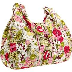ヴェラブラッドリー ベラブラッドリー アメリカ フロリダ州マイアミ 日本未発売 Vera Bradley Large Hobo Make Me Blush Purse Handbag Bagヴェラブラッドリー ベラブラッドリー アメリカ フロリダ州マイアミ 日本未発売