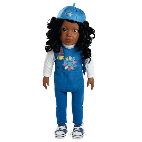 アドラベビードール 赤ちゃん リアル 本物そっくり おままごと 2018920965 Adora Play Doll Madison - Girl Scout Daisy 18