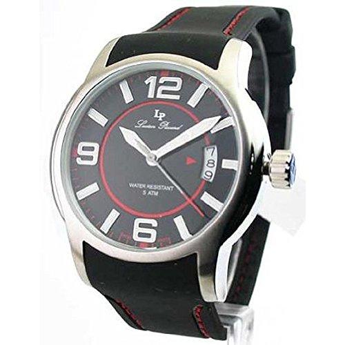 ルシアンピカール 腕時計 メンズ 28163RD 【送料無料】Lucien Piccard 28163RD Men's Rubber Strap Date Watchルシアンピカール 腕時計 メンズ 28163RD
