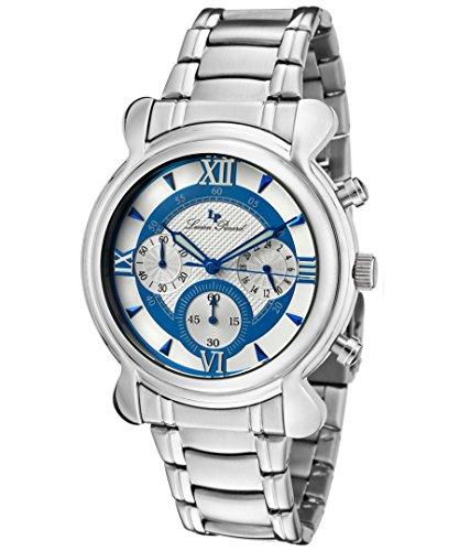 ルシアンピカール 腕時計 メンズ 28167BU 【送料無料】Lucien Piccard 28167BU Mens Steel Chrono Watchルシアンピカール 腕時計 メンズ 28167BU