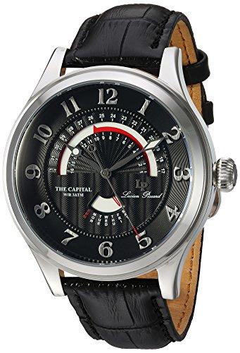 ルシアンピカール 腕時計 メンズ LP-40050-01 【送料無料】Lucien Piccard The Capital Retrograde Men's Watch LP-40050-01ルシアンピカール 腕時計 メンズ LP-40050-01