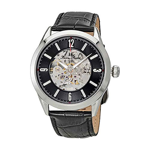 ルシアンピカール 腕時計 メンズ 【送料無料】Lucien Piccard Loft Automatic Skeleton Dial Men's Watch LP-10660A-01-Wルシアンピカール 腕時計 メンズ