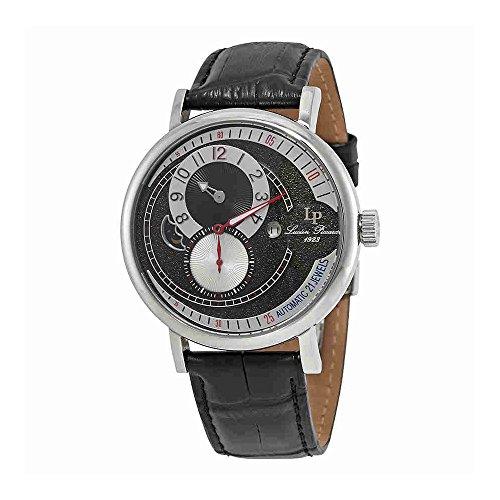 ルシアンピカール 腕時計 メンズ Lucien Piccard Supernova Black and Silver Dial Automatic Men's Watch 15157-01-Wルシアンピカール 腕時計 メンズ