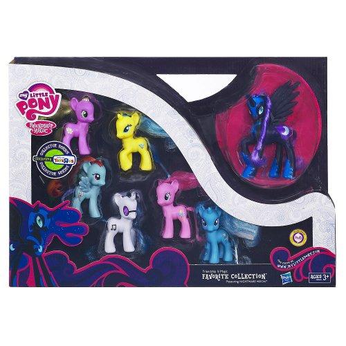 マイリトルポニー ハズブロ hasbro、おしゃれなポニー かわいいポニー ゆめかわいい Nightmare Moon My Little Pony Friendship is Magic