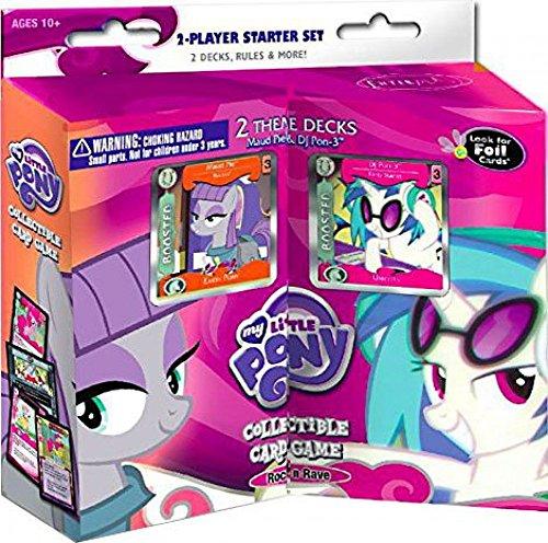 マイリトルポニー ハズブロ hasbro、おしゃれなポニー かわいいポニー ゆめかわいい My Little Pony CCG: Rock N Rave 2-Player Starter Setマイリトルポニー ハズブロ hasbro、おしゃれなポニー かわいいポニー ゆめかわいい