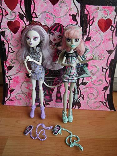 モンスターハイ 人形 ドール CBX57 【送料無料】Monster High Ghoul Chat Doll 2-Pack Rochelle Goyle & Catrine DeMewモンスターハイ 人形 ドール CBX57