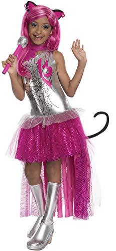 モンスターハイ 衣装 コスチューム コスプレ 610070_M 【送料無料】Rubies Monster High Frights Camera Action Catty Noir Costume, Child Mediumモンスターハイ 衣装 コスチューム コスプレ 610070_M