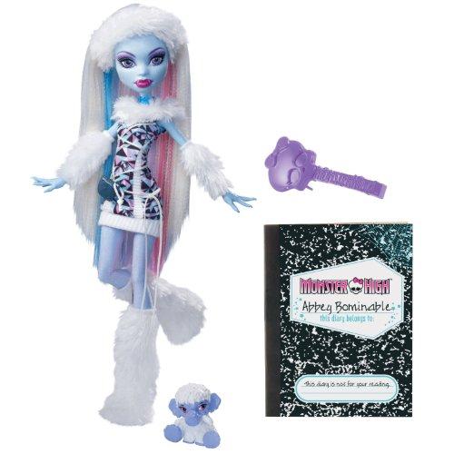 モンスターハイ 人形 ドール V7988 【送料無料】Monster High Abbey Bominable Doll Daughter of the Yetiモンスターハイ 人形 ドール V7988
