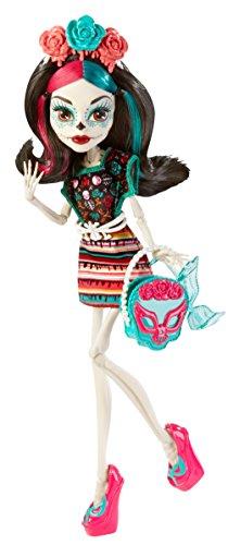 モンスターハイ 人形 ドール CBX72 【送料無料】Monster High Monster Scaritage Skelita Calaveras Doll and Fashion Setモンスターハイ 人形 ドール CBX72