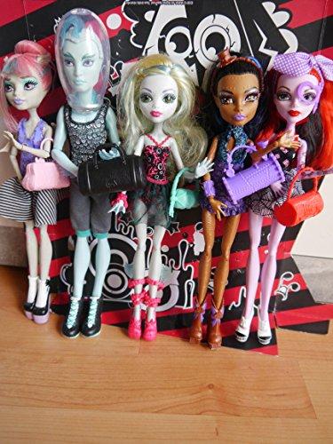 モンスターハイ 人形 ドール Monster High Dance Class 5 Pack - Rochelle Goyle, Gil Webber, Robecca Steam, Lagoona Blue, and Operettaモンスターハイ 人形 ドール
