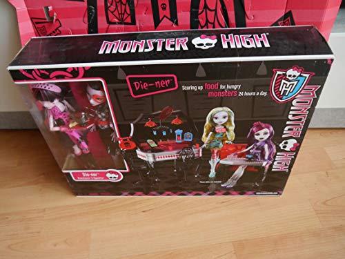 モンスターハイ 人形 ドール 【送料無料】Monster High Die-Ner Playset With Draculaura and Operetta Dollsモンスターハイ 人形 ドール