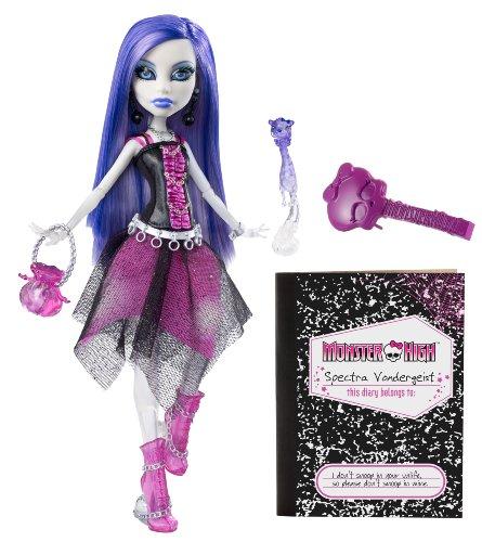 モンスターハイ 人形 ドール V7962 【送料無料】Monster High Spectra Vondergeist Doll With Pet Ferret Rhuenモンスターハイ 人形 ドール V7962